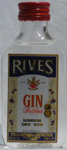 Gin Destilada London Dry Gin Rives-Rives Pitman S.A.