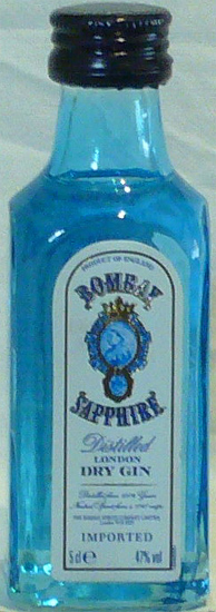 Dry Gin Sapphire The Bombay