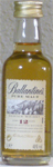 Ballantines Scotch Whisky Pure Malt Aged 12 Years
