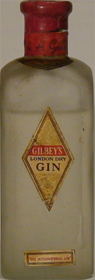 London Dry Gin Gilbey´s